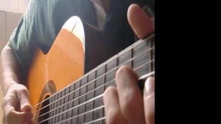 卢先生的琴: vois sur ton chemin. 吉他口琴演奏