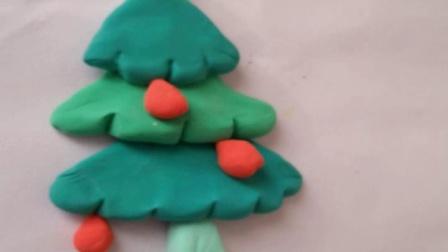 圣诞树的做法如何用超轻粘土做一个漂亮的圣诞树步骤图