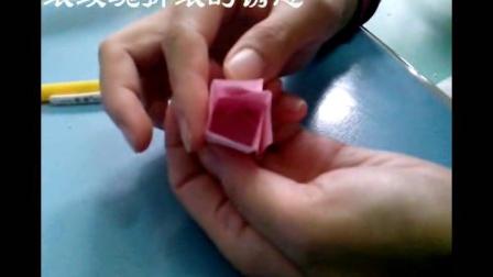 卷心纸玫瑰折纸视频