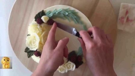 欧式脆皮蛋糕做法  海绵蛋糕制作法