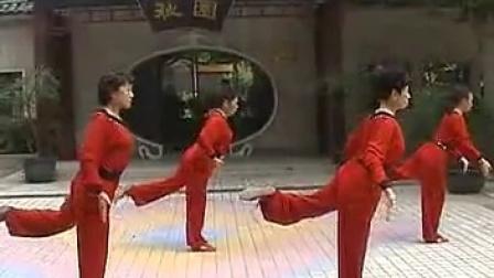 晨练-抒怀剑系列徒手拳《十八罗汉》(梁冰等2006年)