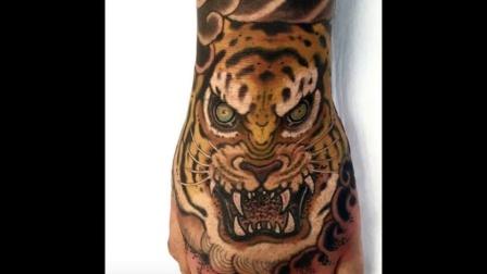 男士老虎纹身图案大全图片