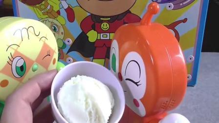 面包超人玩具卡通超人玩具动漫WW冰淇淋店