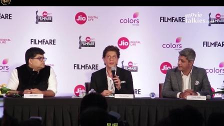 (SRK 2018.2.13翻译发布 1080P)《2018Filmfare颁奖礼 新闻发布会》沙鲁克汗Shahrukh Khan有趣片段剪辑