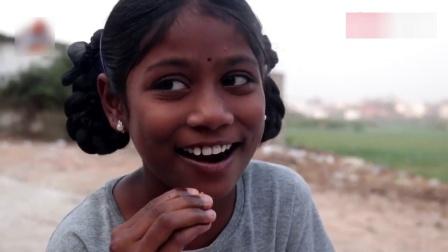 买回来一大盘鸡肉, 看看印度老奶奶怎么烹饪的, 孩子们吃的美滋滋