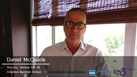 哥伦比亚大学商学院Venture For All课程介绍