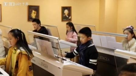 柒音里雅马哈双排键寒假的合奏课《龙猫》