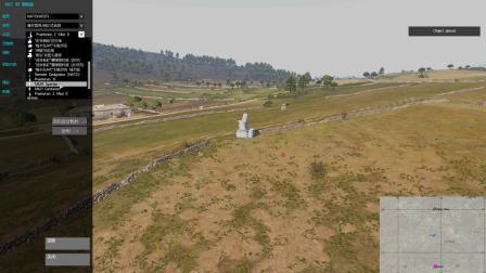 武装突袭3密集阵火炮防空演示。