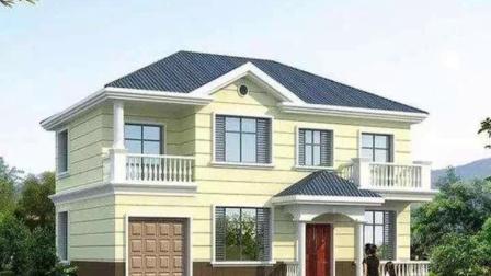 二层超精致小别墅,平面布局见过户型里最合理的,附实景图