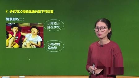 人教版-政治-提高版-八年級上-陈佳-1.第一单元相亲相爱一家人-1.第一课爱在屋檐下-2.考点精讲-1