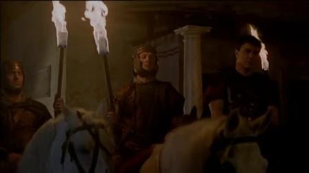 《凯撒大帝(上)》  凯撒舍命救人力搏强敌捕