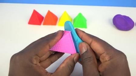 DIY如何做砂蛋糕学习颜色颜色动能沙子