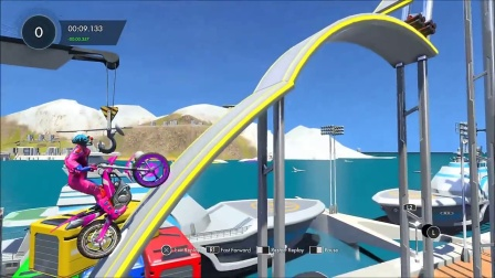 Trials Fusion Custom Ninja Track 'Rebrief's Skill Climb FX'【PS4】
