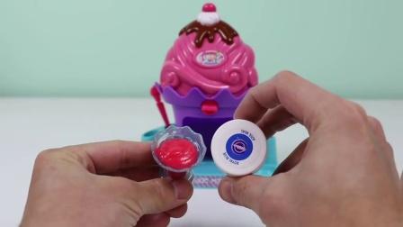 美味的汽水店制造商迷你神奇厨房玩具店新彩色DIY苏打糖果!