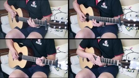 这是你从来没有见过的《忍者》吉他弹唱