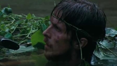 《重见天日》  树叶伪装漂流 大雨天胸膛拔蚂蝗