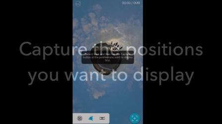 用THETA+定制您的360°动画
