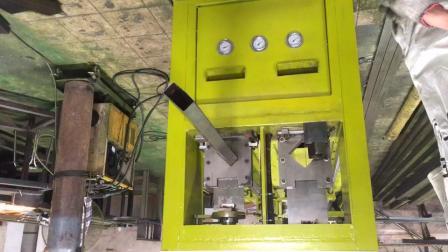 6米全自动下料机器。支持定制不锈钢防盗网全自动数控冲孔机切断机、缩管机冲弧口等