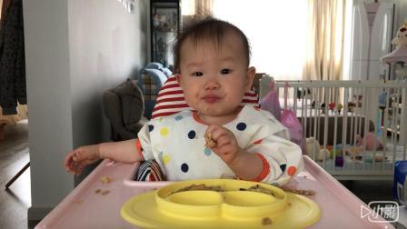 【朱耿耿日食记9M16D】午餐:山药香菇鸡肉丸➕香煎小藕饼➕芝士鸡肉蛋肠