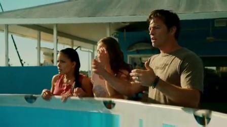 海豚的故事 海豚奋力试水翻滚花样表演 CUT 3