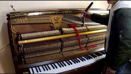 钢琴调律视频《千人调律师培养计划》第一集 调音器使用方法1
