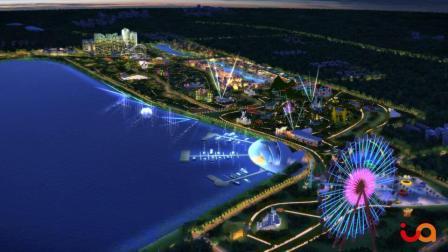 晋阳湖建筑的动画
