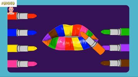 用冰激凌冰棒为孩子们学习颜色为孩子学习冰淇淋视频