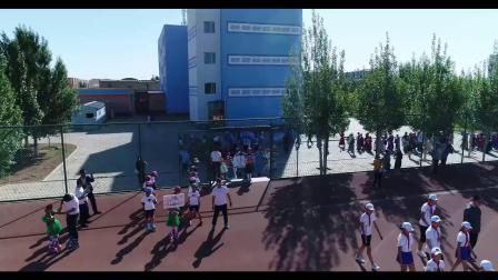 苏尼特右旗蒙古族小学6.1活动 航拍