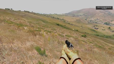 武装突袭3_SAGA战队训练场任务随机地形标图定位学习讲解2。《两点交叉定位标图》