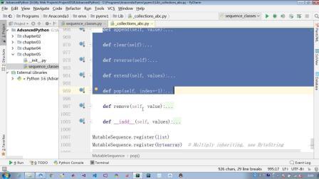 python030 python中序列类型的abc继承关系