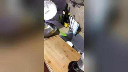 8寸戚风蛋糕制作过程