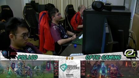 LGD vs Optic Supermajor小组赛D组胜者组决赛 BO3 第一场 6.3
