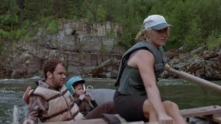 狂野之河 斯特里普激流划船 船桨打人 CUT 5
