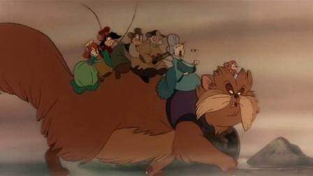 美国鼠谭 老鼠乘猫寻费沃 一家团聚欢喜相拥 CUT 10
