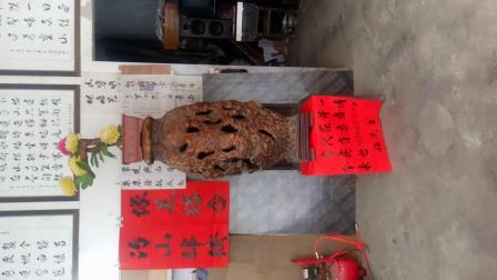 古代天然花瓶    收藏者是中山黄圃横档招少艺
