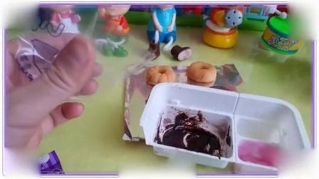 佩格和小猫一起学习做饼干,米奇妙妙屋 粉红猪小妹 大象巴巴