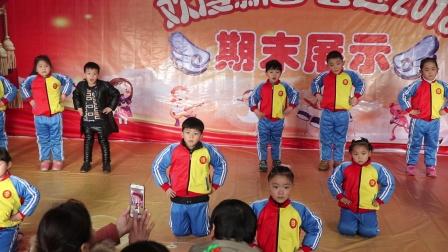 小太阳潜能开发幼儿园期末展示考级舞蹈《我勇敢》