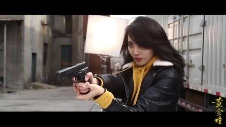 《黄金瞳》王紫璇上演飞天小女警, 轻伤不下火线
