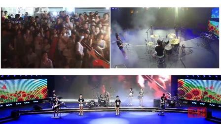 摇滚版《让我们荡起双浆》央视少儿频道 郴州现场by龙马阳光