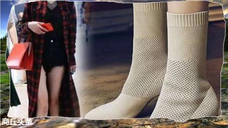 """时尚女王杨幂又要带火一款鞋子了,同款""""瘦瘦靴""""好时髦!"""