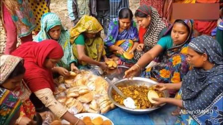 一人一只鸡, 印度妇女把它们做成美食!