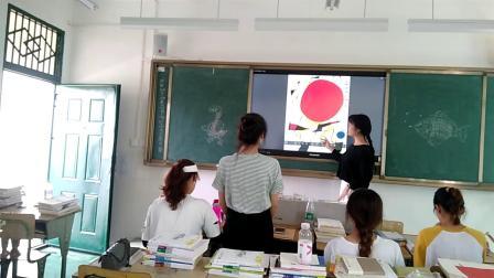 小班幼儿美术绘画活动《秋天的树叶》