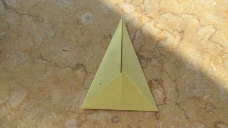简单易学的亲子手工折纸雪梨的折法如何用彩纸做梨的教程