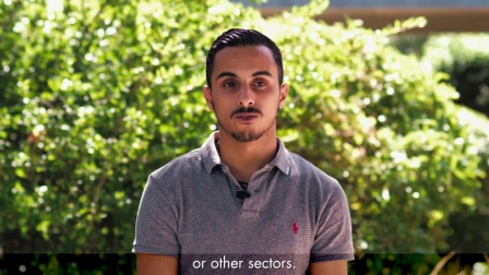 Yassine, international student (Morocco) at Montpellier Business School