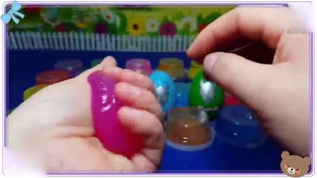 花园宝宝喜欢玩透明的冰冻水晶粘土,小羊肖恩 公主恋人