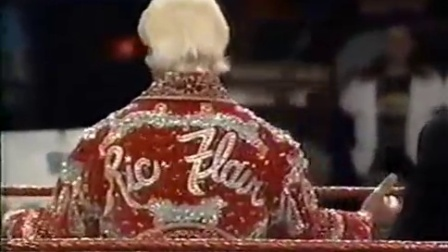 RIC FLAIR VS Sgt Slaughter  1992