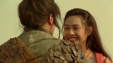 当年至尊宝和紫霞仙子城墙上这一幕, 看哭了多少人, 结局却有点遗憾
