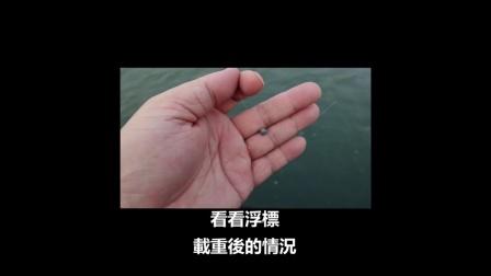 磯釣入門:殘存浮力 浮標調重
