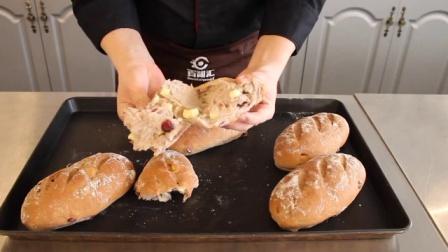 红酒黑麦芝士面包制作方法学习
