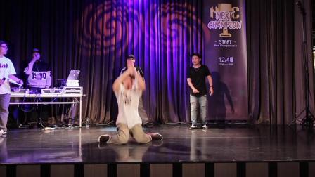 Next Champion vol.3 Popping Judge Solo - Pop Yu , Krazy Bonez , 阿政